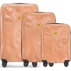 Walizki Icon w zestawie 3 el. matowy różowy. Walizki męskie Crash Baggage, z materiału. Za 2,628.00 zł.
