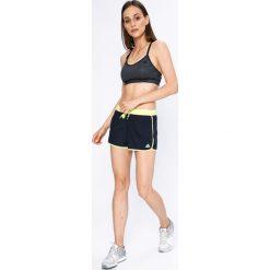 Adidas Performance - Szorty Split Sh. Szare szorty sportowe damskie adidas Performance, z materiału. W wyprzedaży za 119.90 zł.
