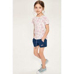 Krótkie spodenki dresowe - Niebieski. Spodenki dla dziewczynek marki Reserved. W wyprzedaży za 19.99 zł.