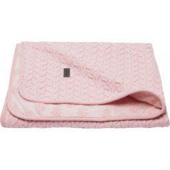 Bebe-Jou Kocyk Niemowlęcy Samo 75X100 Cm - Fabulous Blush Pink. Różowe kocyki dla dzieci Bebe-Jou, z bawełny. Za 215.00 zł.