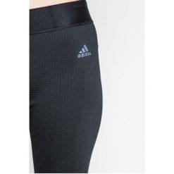 Adidas Performance - Legginsy. Szare legginsy damskie adidas Performance, z dzianiny. W wyprzedaży za 159.90 zł.