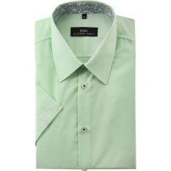 Koszula FABIO 15-01-19. Zielone koszule męskie Giacomo Conti, na lato, z bawełny, z krótkim rękawem. Za 129.00 zł.