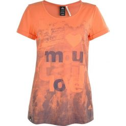Adidas T-shirt WS Z11384. Brązowe t-shirty damskie Adidas, z bawełny. W wyprzedaży za 69.99 zł.