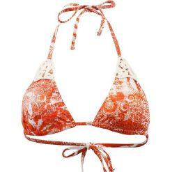 """Biustonosz bikini """"Embiez"""" w kolorze pomarańczowym. Biustonosze Val d´Azur, z aplikacjami. W wyprzedaży za 208.95 zł."""