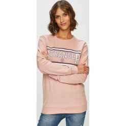 Tally Weijl - Bluza. Różowe bluzy damskie TALLY WEIJL, z nadrukiem, z bawełny. W wyprzedaży za 29.90 zł.
