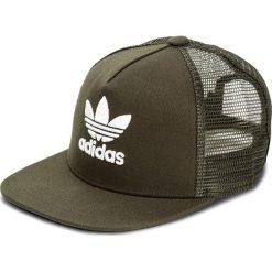 Czapka z daszkiem adidas - Trefoil Trucker CD6981 Ngtcar/White. Zielone czapki i kapelusze męskie Adidas. Za 89.00 zł.