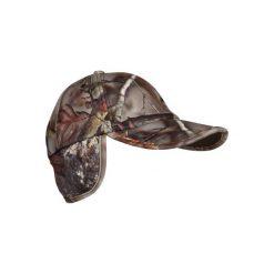 Czapka myśliwska polarowa ACTIKAM-B camo. Brązowe czapki i kapelusze damskie SOLOGNAC. Za 39.99 zł.