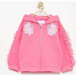 Bluza z tiulowymi falbankami - Różowy. Bluzy dla niemowląt Reserved, z tiulu. W wyprzedaży za 19.99 zł.