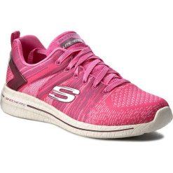 Buty SKECHERS - Burst 2.0 12651/HPK Hot Pink. Czerwone obuwie sportowe damskie Skechers, z materiału. W wyprzedaży za 189.00 zł.