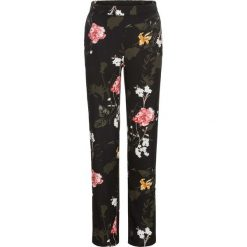 Spodnie bonprix czarny. Czarne spodnie materiałowe damskie bonprix. Za 59.99 zł.