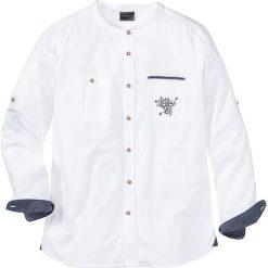 Koszula ludowa Regular Fit bonprix biały. Koszule męskie marki Giacomo Conti. Za 49.99 zł.