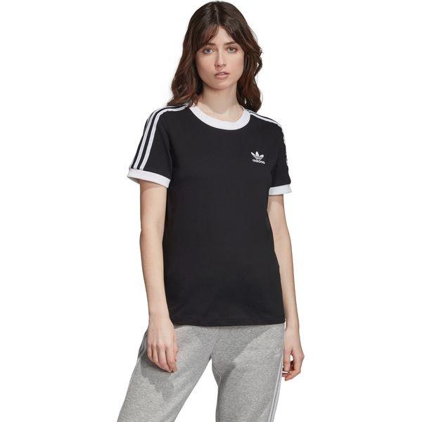 adidas Originals 3 Stripes Koszulka Czarny