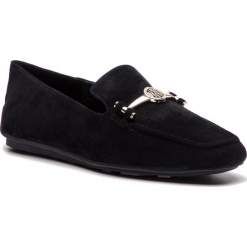 Lordsy DKNY - Li K3866225  Black. Czarne mokasyny damskie DKNY, ze skóry. Za 479.00 zł.