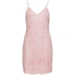 Sukienka bonprix jasnoróżowy. Czerwone sukienki damskie bonprix, z długim rękawem. Za 149.99 zł.