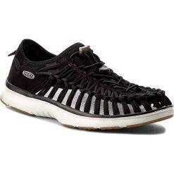 Sandały KEEN - Uneek 02 1017050 Black/Harvest Gold. Czarne sandały męskie Keen, z materiału. W wyprzedaży za 249.00 zł.