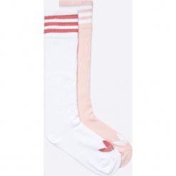 Adidas Originals - Skarpetki (2-pack). Szare skarpety damskie adidas Originals, z bawełny. W wyprzedaży za 49.90 zł.