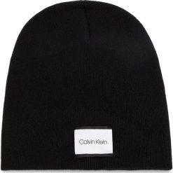 Czapka CALVIN KLEIN - Classic Beanie W K60K604732 001. Czarne czapki i kapelusze damskie Calvin Klein, z kaszmiru. Za 179.00 zł.