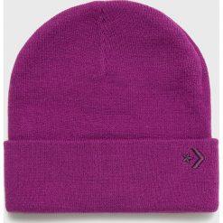 Converse - Czapka. Fioletowe czapki i kapelusze damskie Converse. Za 89.90 zł.