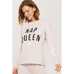 7fb98d40fb6e51 Piżamowa koszulka z napisem - Różowy. Koszule nocne damskie marki House.