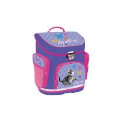 Tornister Szkolny Plecak Z Kotkiem Kot Kotek Kitty. Fioletowe torby i plecaki dziecięce Świat Bajek, z gumy. Za 84.01 zł.