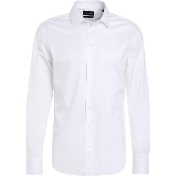 99353a42b Emporio Armani SMART SLIM FIT Koszula biznesowa bianco ottico ...