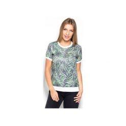 Bluzka K402 Wzór 19. Szare koszulki sportowe damskie Katrus, z materiału, z krótkim rękawem. Za 119.00 zł.