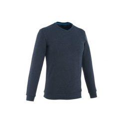 Sweter turystyczny NH150 męski. Niebieskie swetry przez głowę męskie QUECHUA, z elastanu. Za 39.99 zł.