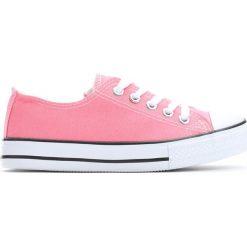 Różowe Trampki I Feel It. Czerwone buty sportowe dziewczęce Born2be, z materiału. Za 29.99 zł.