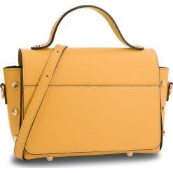 Torebka CREOLE - K10579  Żółty. Żółte torebki do ręki damskie Creole, ze skóry. Za 189.00 zł.