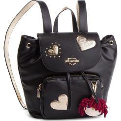 Plecak LOVE MOSCHINO - JC4061PP17LF0000  Nero. Czarne plecaki damskie Love Moschino, ze skóry ekologicznej. Za 959.00 zł.