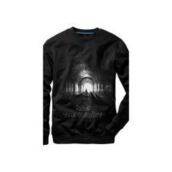 Bluza UNDERWORLD casual Follow. Czarne bluzy męskie Underworld, z nadrukiem, z bawełny. Za 119.99 zł.