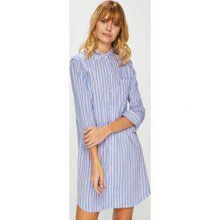 Lauren Ralph Lauren - Koszula nocna. Szare koszule nocne damskie Lauren Ralph Lauren, z bawełny. W wyprzedaży za 279.90 zł.