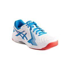 Buty tenisowe Asics Gel męskie. Białe buty sportowe męskie Asics. W wyprzedaży za 199.99 zł.