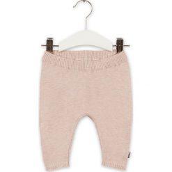 Spodnie w kolorze jasnoróżowym. Spodnie materiałowe dla dziewczynek marki bonprix. W wyprzedaży za 82.95 zł.