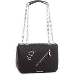Torebka LOVE MOSCHINO - JC4077PP16LL0000  Nero. Czarne torebki do ręki damskie Love Moschino, ze skóry ekologicznej. W wyprzedaży za 739.00 zł.
