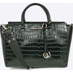 Versace Jeans - Torebka. Szare torby na ramię damskie Versace Jeans. W wyprzedaży za 849.90 zł.