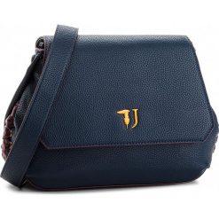 Torebka TRUSSARDI JEANS - Lavanda 75B00450 U280. Niebieskie listonoszki damskie TRUSSARDI JEANS, z jeansu. W wyprzedaży za 419.00 zł.