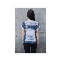 T-shirt Imagine Your Limit. Szare t-shirty damskie Bahabay, z nadrukiem, z bawełny. Za 83.30 zł.