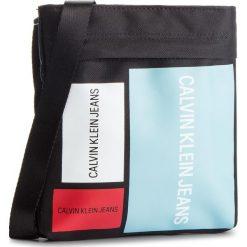 Saszetka CALVIN KLEIN JEANS - Sport Essential Micro Flat K40K400883 910. Czarne saszetki męskie Calvin Klein Jeans, z jeansu, młodzieżowe. Za 299.00 zł.