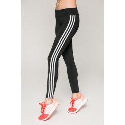 Adidas Performance - Legginsy. Szare legginsy damskie adidas Performance, z dzianiny. W wyprzedaży za 239.90 zł.