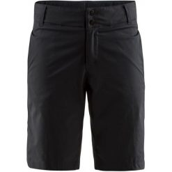 Craft Szorty Rowerowe Damskie Ride Shorts, Czarny M. Czarne szorty sportowe damskie Craft, z materiału. Za 229.00 zł.