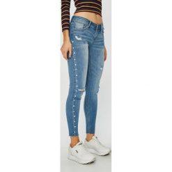 Tally Weijl - Jeansy Zoe. Niebieskie jeansy damskie TALLY WEIJL. Za 169.90 zł.