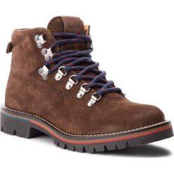 Trapery PEPE JEANS - Mountaineer Suede PMS50168 Dk Brown 898. Brązowe śniegowce i trapery męskie Pepe Jeans, z jeansu. W wyprzedaży za 589.00 zł.