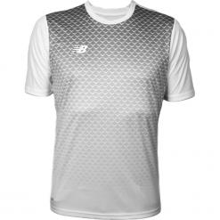 Koszulka treningowa - EMT6102WT. Szare koszulki sportowe męskie New Balance, na jesień, z materiału. W wyprzedaży za 99.99 zł.
