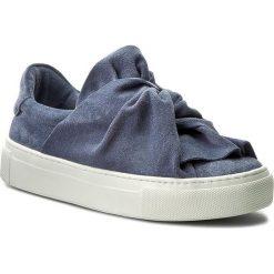 Półbuty BRONX - 65913-CS 2004 Jeans Blue. Niebieskie półbuty damskie Bronx, z jeansu. W wyprzedaży za 309.00 zł.