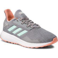Buty adidas - Duramo 9 K BB7063 Grethr/Clemin/Lgrani. Szare obuwie sportowe damskie Adidas, z materiału. W wyprzedaży za 149.00 zł.