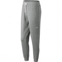 New Balance WP81866AG. Szare spodnie dresowe damskie New Balance, z bawełny. W wyprzedaży za 99.99 zł.