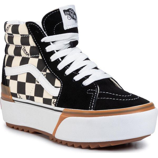 Sneakersy VANS Sk8 Hi Stacked VN0A4BTWVLV1 (Checkerboard) MultiTrue