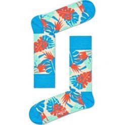 Happy Socks - Skarpetki Jungle. Szare skarpety damskie Happy Socks, z bawełny. W wyprzedaży za 29.90 zł.