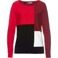 Sweter bonprix czerwono-bordowy. Swetry damskie marki bonprix. Za 89.99 zł.